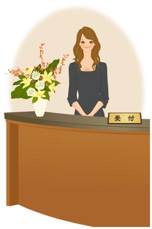 【職種図鑑】受付 仕事内容まるわかり職種図鑑(受付)|女性の求人・転職なら【とらばーゆ】 女性の