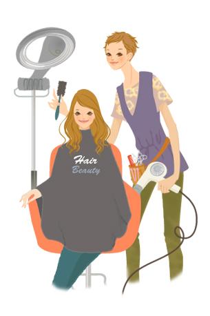 仕事内容まるわかり職種図鑑美容師理容師スタイリスト女性の