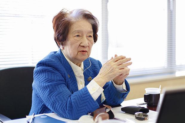 女性の社会進出の土台を築いた赤松良子さん「一度きりの人生だからこそ、何事も入念な準備は欠かせない」